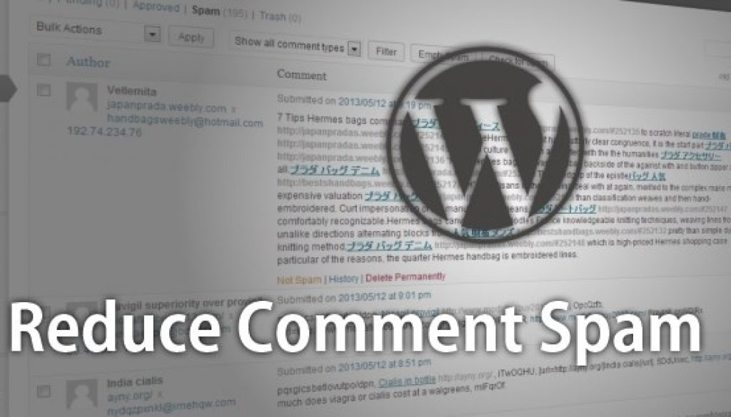 reduce-wordpress-comment-spam